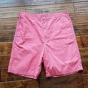 <vineyard vines> pink cotton shorts
